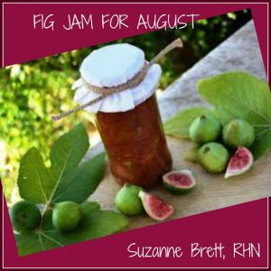 fig jam for august